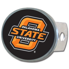 Oklahoma St.  Oval Hitch Cover