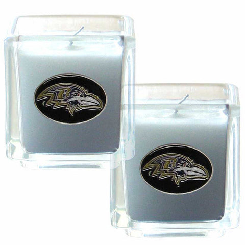 Baltimore Ravens Scented Candle Set
