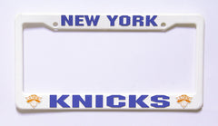 New York Knicks Plastic License Plate Frame