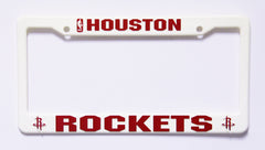 Houston Rockets Plastic License Plate Frame