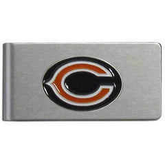 Bears Brushed Money Clip