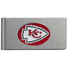 Chiefs Brushed Money Clip