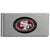 49ers Brushed Money Clip