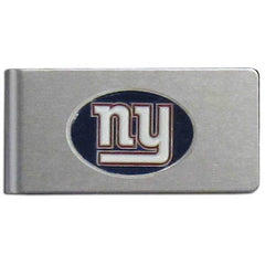 Giants Brushed Money Clip