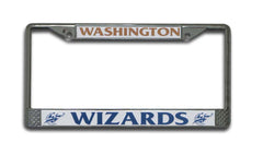 Washington Wizards License Plate Chrome Frame