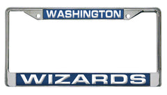 Washington Wizards Laser Cut License Plate Chrome Frame