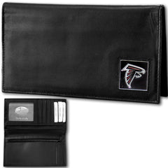Atlanta Falcons - Deluxe NFL Checkbook in a Tin