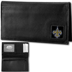 New Orleans Saints - Deluxe NFL Checkbook in a Tin