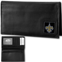 New Orleans Saints - Deluxe NFL Checkbook in a Window Box