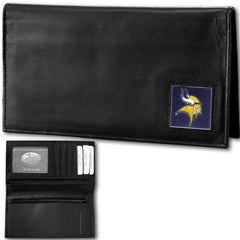 Minnesota Vikings - Deluxe NFL Checkbook in a Tin