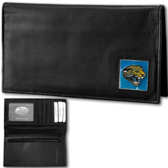 Jacksonville Jaguars - Deluxe NFL Checkbook in a Tin