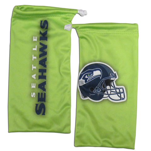 Seahawks Microfiber Glasses Bag