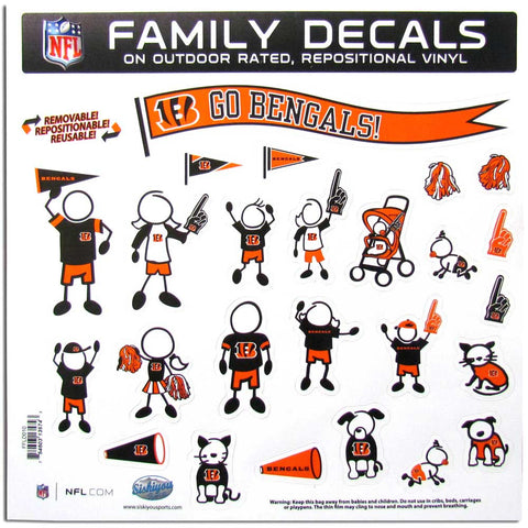 Bengals Family Decal Lg.