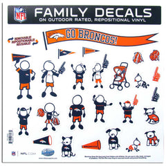 Broncos Family Decal Lg.