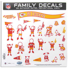 Chiefs Family Decal Lg.