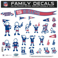 Giants Family Decal Lg.