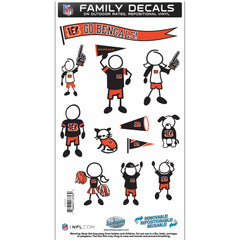 Bengals Family Decal Med.