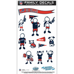 Bills Family Decal Med.