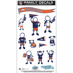 Broncos Family Decal Med.