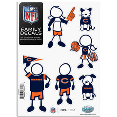 Bears Family Decal Sm.
