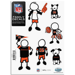 Bengals Family Decal Sm.