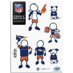 Broncos Family Decal Sm.