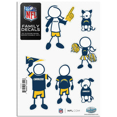 Chargers Family Decal Sm.