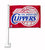 LA Clippers Car Flag White