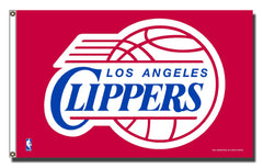 LA Clippers 3x5 Banner Flag Style 2