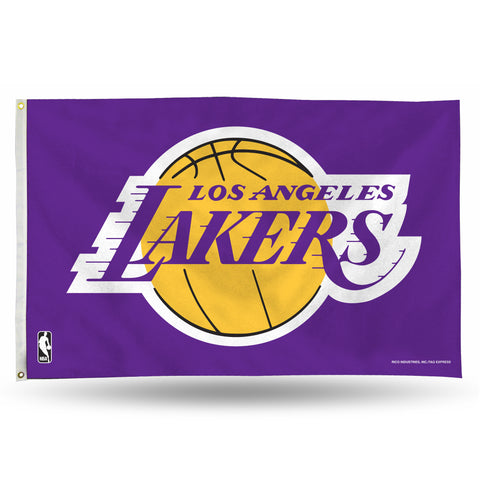 LA Lakers 3x5 Banner Flag Style 3