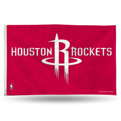 Houston Rockets 3x5 Banner Flag Style 2