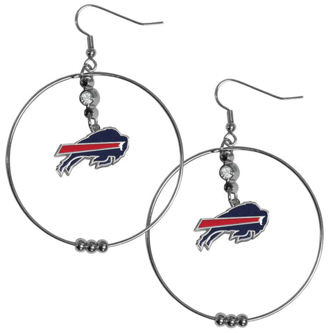 "Bills 2"" Hoop Earrings"