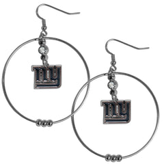 "Giants 2"" Hoop Earrings"