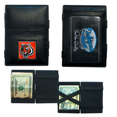 Bengals Leather Jacob's Ladder Wallet