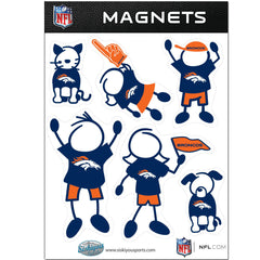 Broncos Family Magnets