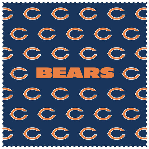 Bears Sunglass Microfiber Cleaning Cloth