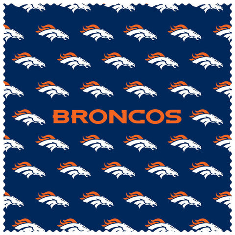 Broncos Sunglass Microfiber Cleaning Cloth