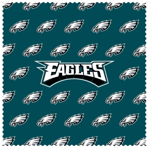 Eagles Sunglass Microfiber Cleaning Cloth