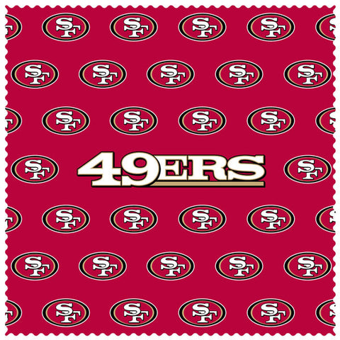 49ers Sunglass Microfiber Cleaning Cloth