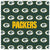 Packers Sunglass Microfiber Cleaning Cloth
