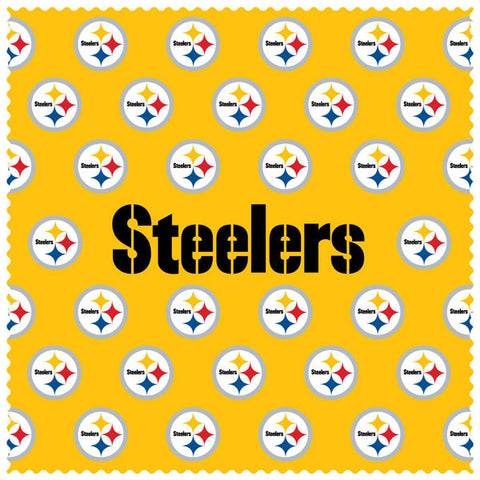 Steelers Sunglass Microfiber Cleaning Cloth