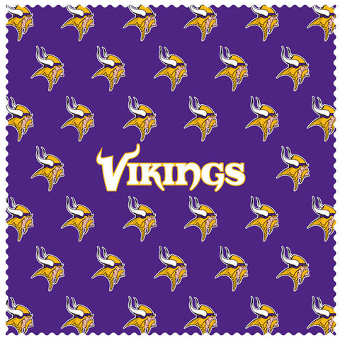 Vikings Sunglass Microfiber Cleaning Cloth