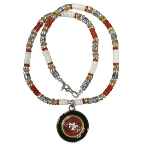49ers Shell Necklace