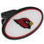 Arizona Cardinals Plastic Hitch Cover