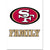 49ers Team Pride Decal