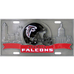 Atlanta Falcons - 3D NFL License Plate