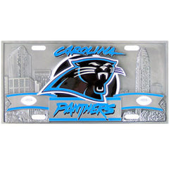 Carolina Panthers - 3D NFL License Plate