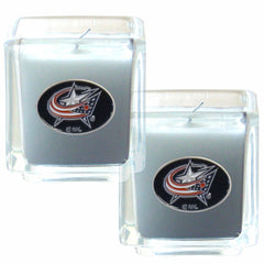 Blue Jackets NHL Candle Set