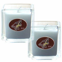 Coyotes NHL Candle Set