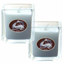 Avalanche NHL Candle Set